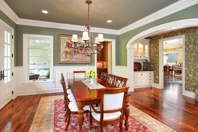 Custom Home 10 Traditional Dining Room Philadelphia