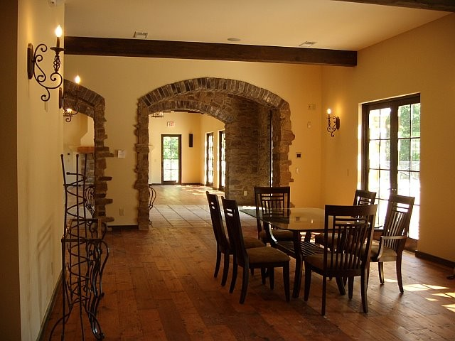 Custom Home traditional-dining-room
