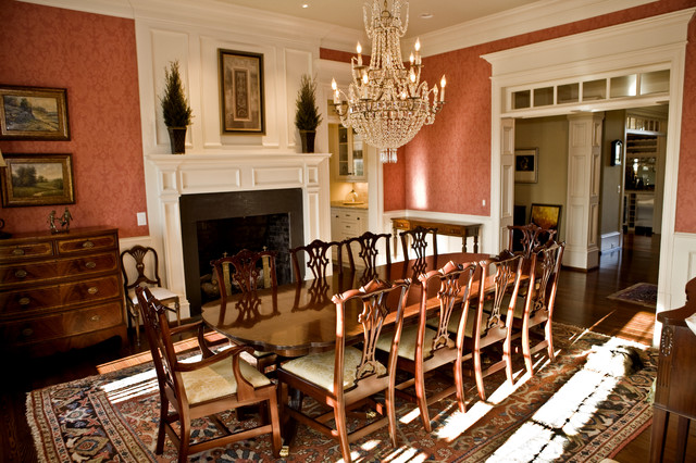 Custom Home Traditional Dining Room Nashville By
