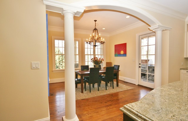 Custom Home traditional-dining-room