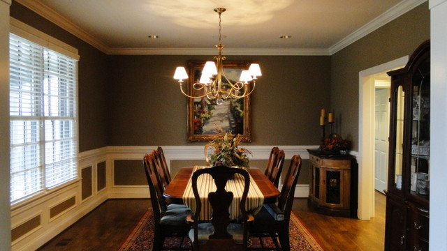 Custom Home in Franklin, TN traditional-dining-room