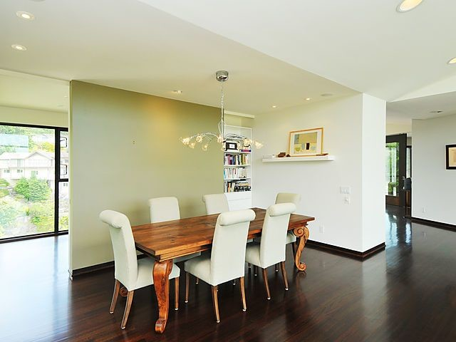 Custom Home Contemporary Dining Room Ottawa By