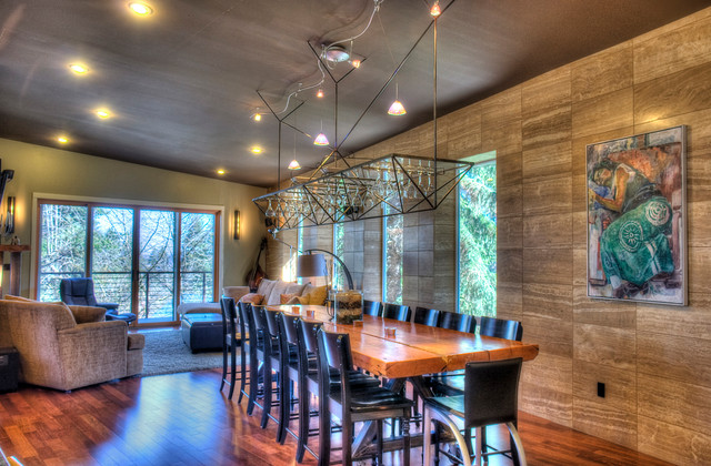 Custom Home South Hill Spokane contemporary-dining-room