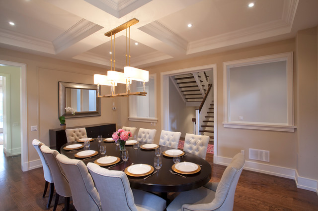 Custom Homes, Lorne Park contemporary-dining-room