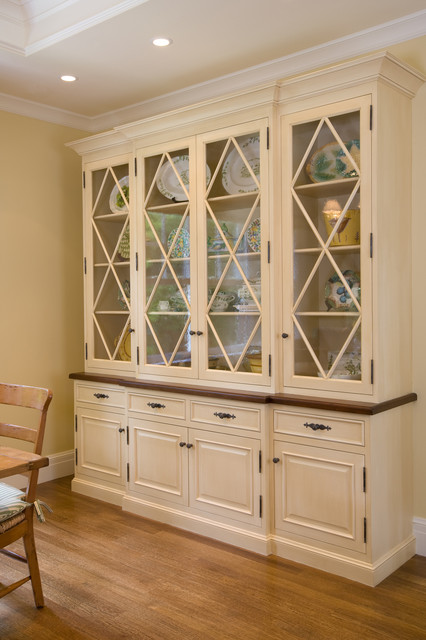 Custom Hutch by Midland - Traditional - Dining Room - San Francisco - by Midland Cabinet Company
