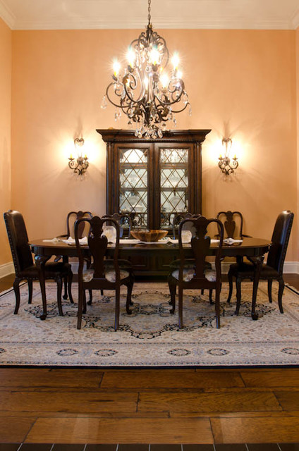 Custom old world english country house traditional for Old world dining room ideas