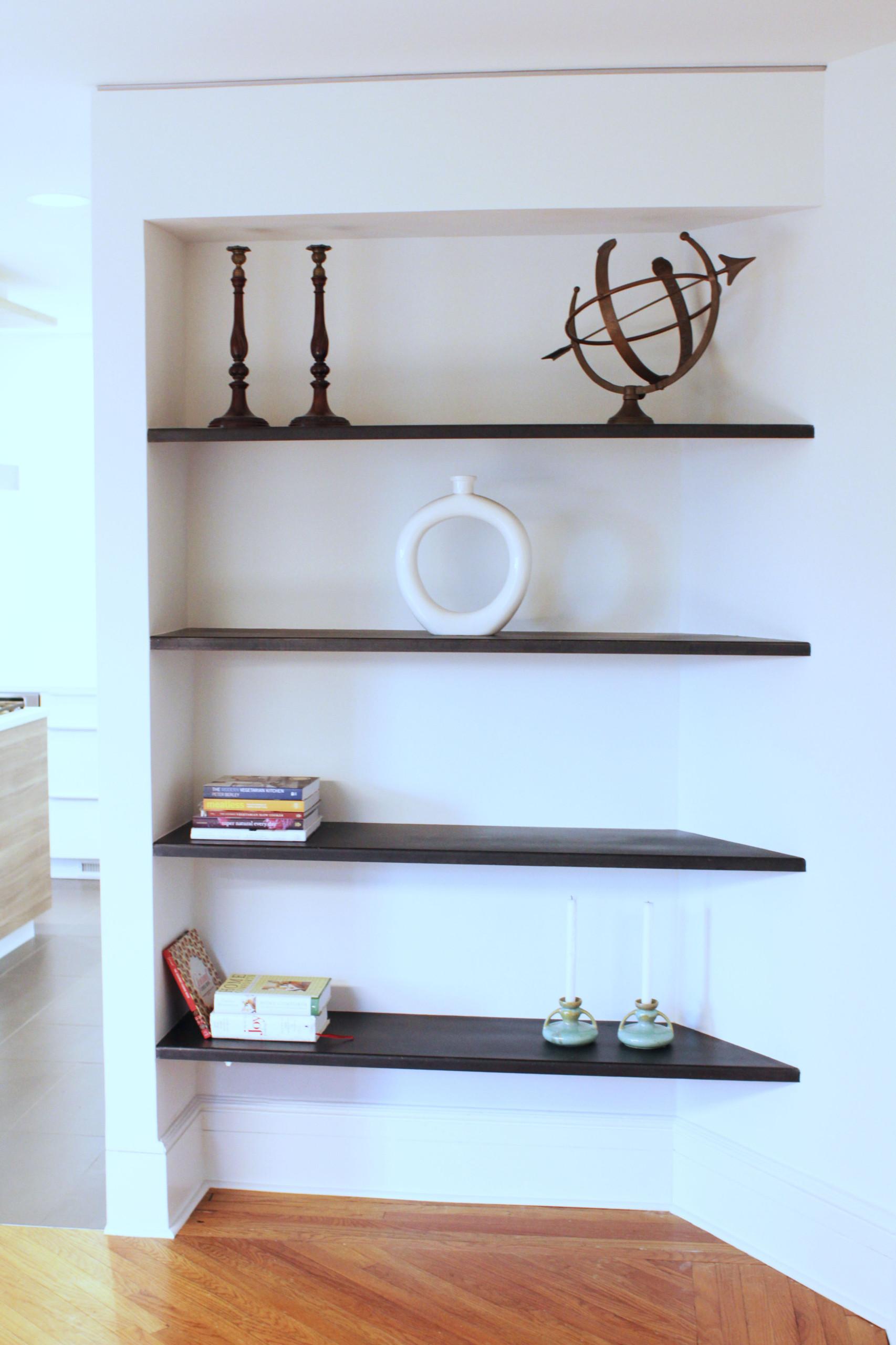 Custom Steel shelves