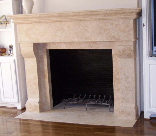 Floor Decor Ideas Lake Tile And More Store Orlando: Custom Travertine Fireplaces