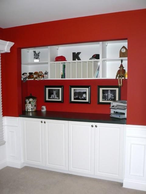 custom wall storage traditional dining room st louis by beyond