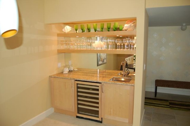 Custom Wall Units - Contemporary - Dining Room - Miami - by ...