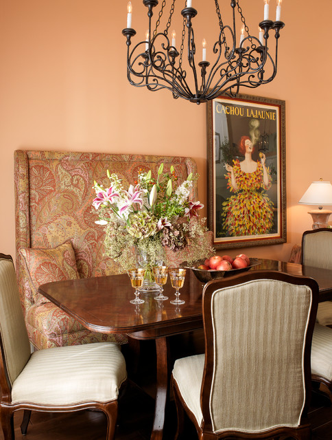 D 39 s bold colors mediterranean dining room san for Bold dining room colors
