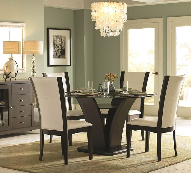 Daisy Dining Set Transitional Room