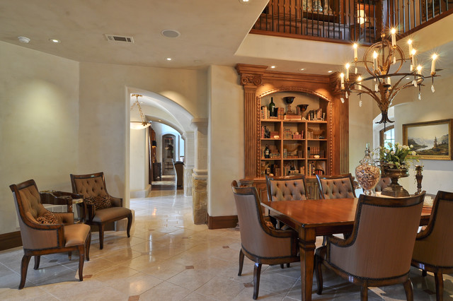 Dallas Area Residence traditional-dining-room