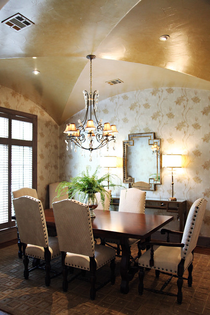 Dallas project eclectic dining room