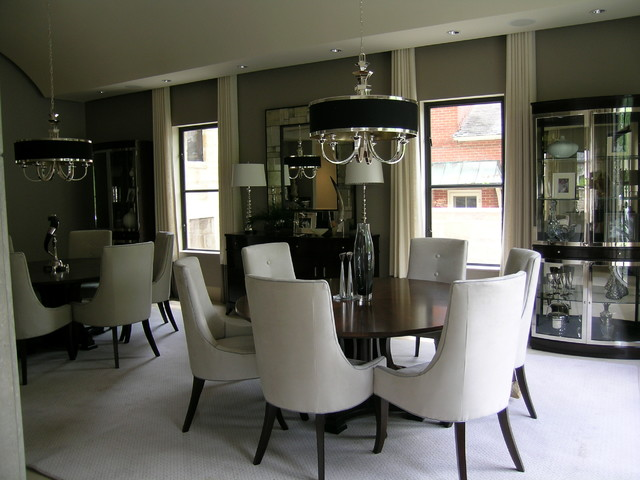 Dallas, Texas contemporary-dining-room