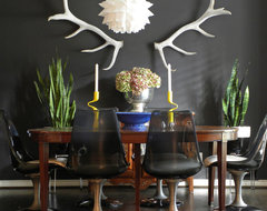 Dallas, TX: Lyndsey & Steve eclectic-dining-room