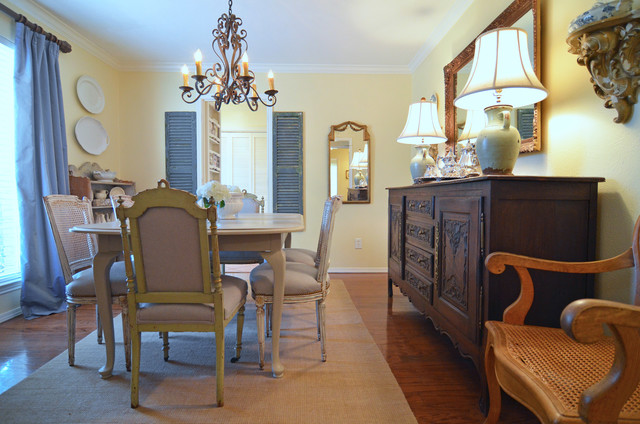 Dallas, TX: Matt & Kathryn Janes traditional-dining-room