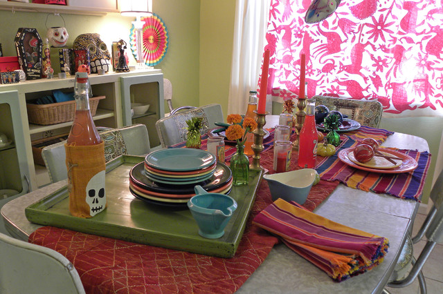 Dallas, TX: Melissa & Guillermo eclectic-dining-room