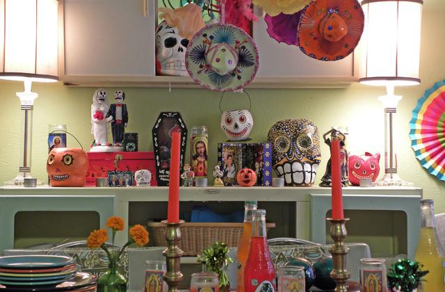 Dallas, TX: Melissa & Guillermo contemporary-dining-room