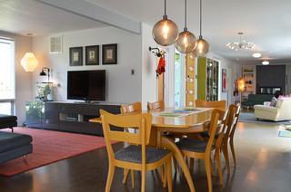 Dallas, TX: Stolp midcentury-dining-room