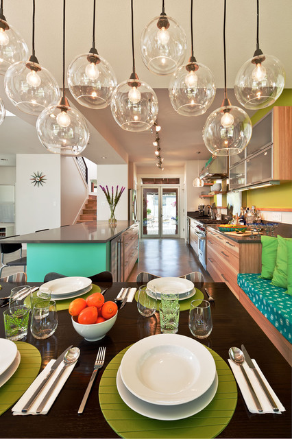 Dandelion House contemporary-dining-room