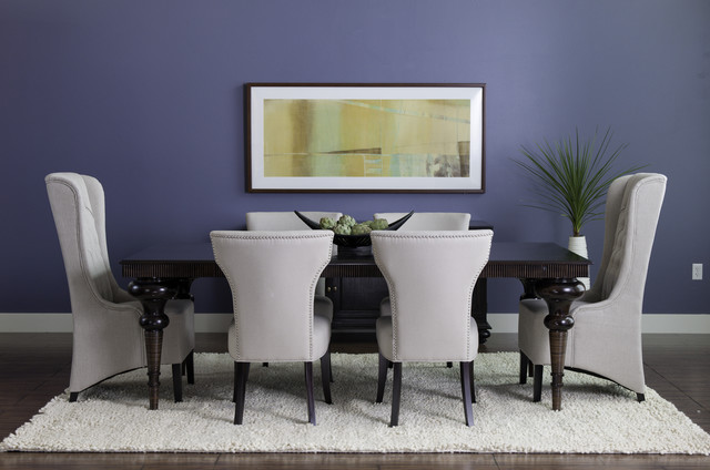 Dania Furniture eclectic dining room
