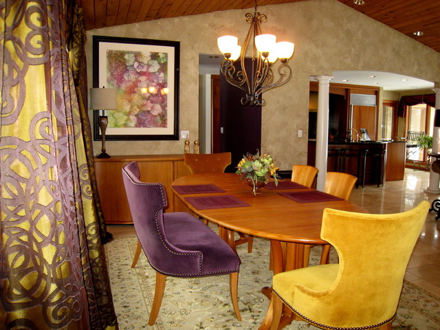 Grant Township eclectic-dining-room