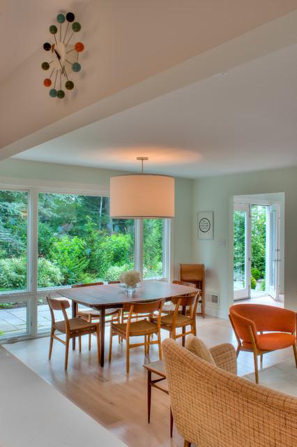 danish modern modern dining room philadelphia by