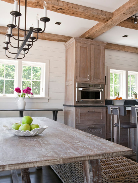 Whitewashed Oak Cabinets Home Design Ideas, Pictures, Remodel and ...