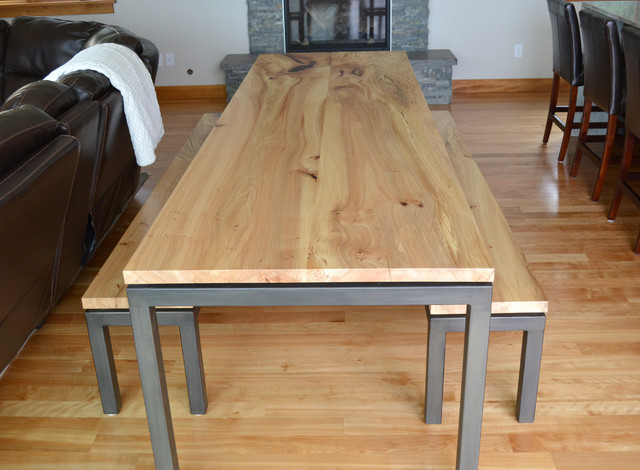 Dash Point Custom Dining Table - Contemporary - Dining Room ...