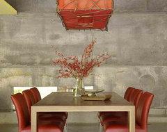 David Ward contemporary-dining-room