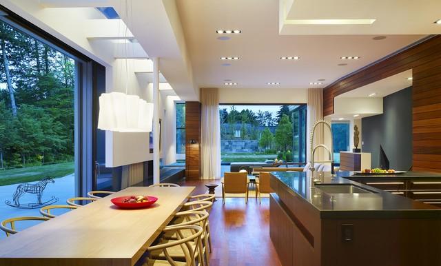 Davis Residence modern-dining-room
