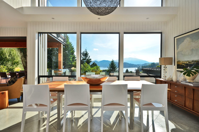 Dawna Jones Design Modern Dining Room