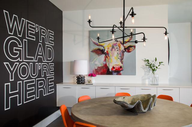 Dayna Flory Interiors And Patrick Dyke Home Designer Modern Esszimmer Detroit Von Mars Photo And Design