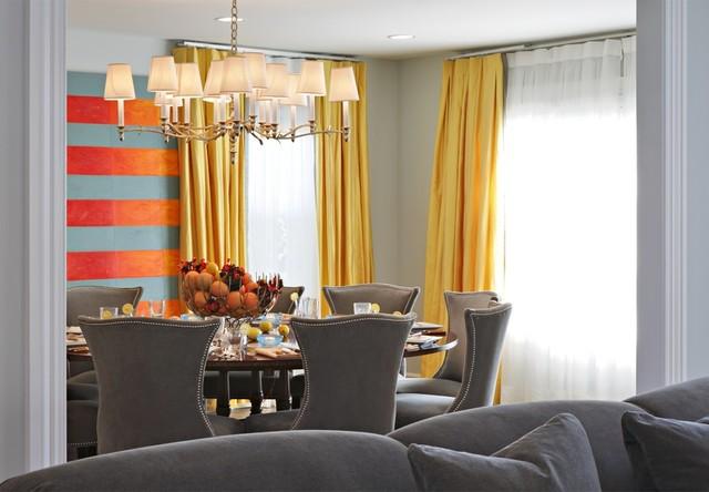 DEAL, NJ BEACH HOUSE beach-style-dining-room