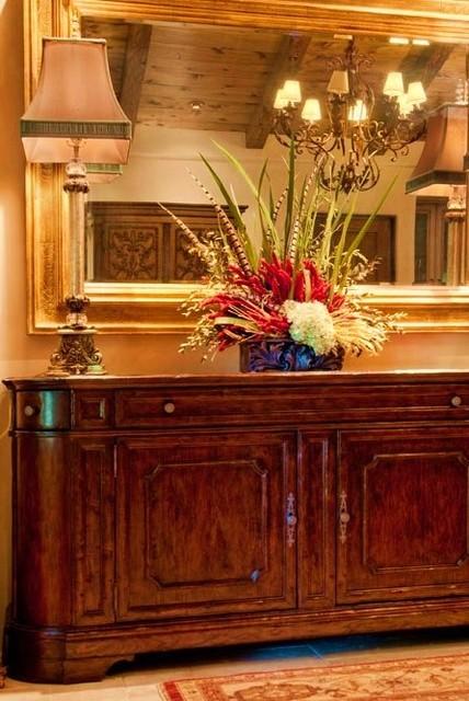 Debra Campbell Design mediterranean-dining-room
