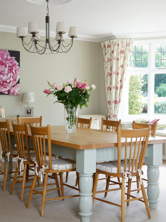Shabby Chic Style Decadent Dining Rooms Home Design Photos Decor