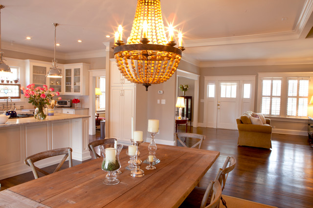 Decatur expansion traditional dining room other by for Traditional red dining room