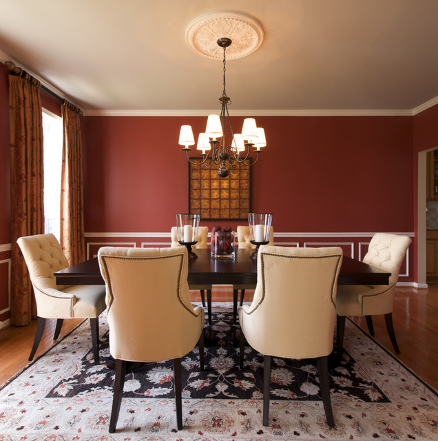 Decor By Denise Dining Room American, Victorian Dining Room Paint Colors