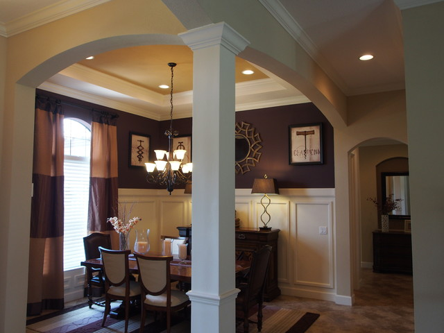 Decorative Dining Room Column