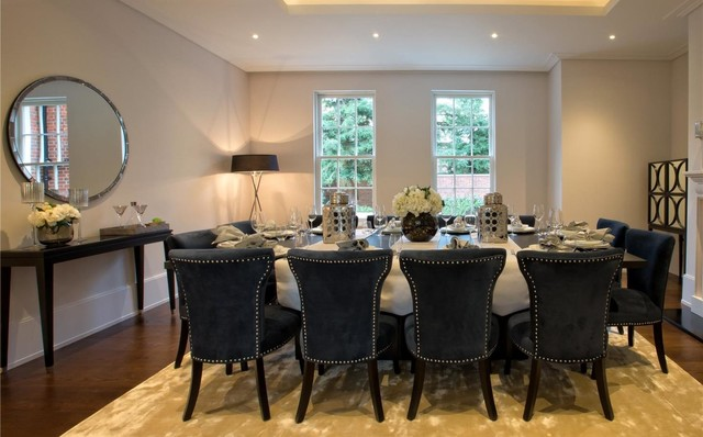 DeeDee Banks Designs l Dining Rooms contemporary-dining-room