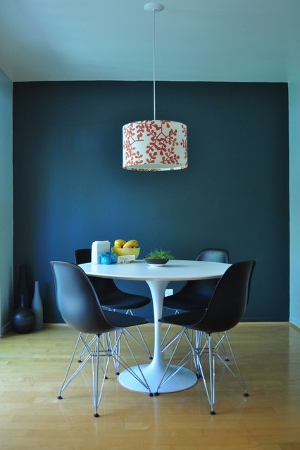 Deep Turquoise Dining Room - modern - dining room - san francisco ...