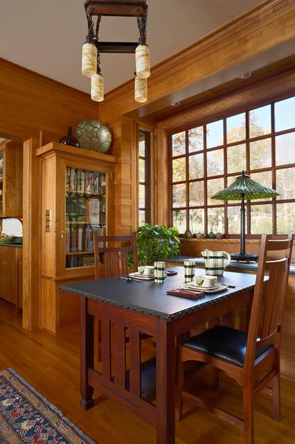 deephaven craftsman craftsman dining room minneapolis by david