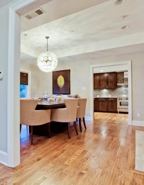 Del Roy Project - Nortex Custom Hardwood Floors contemporary-dining-room