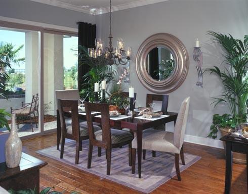 Del Webb Lincoln Hills contemporary-dining-room