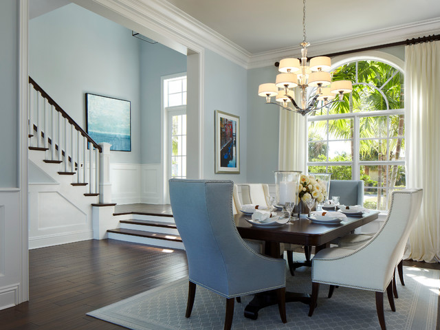 Delray Beach Key West Style Tropical Dining Room Miami By Architect Bruce Celenski Inc