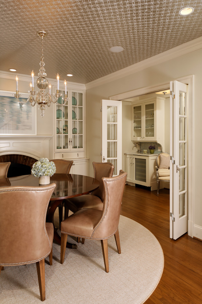 Example of a classic dining room design in DC Metro