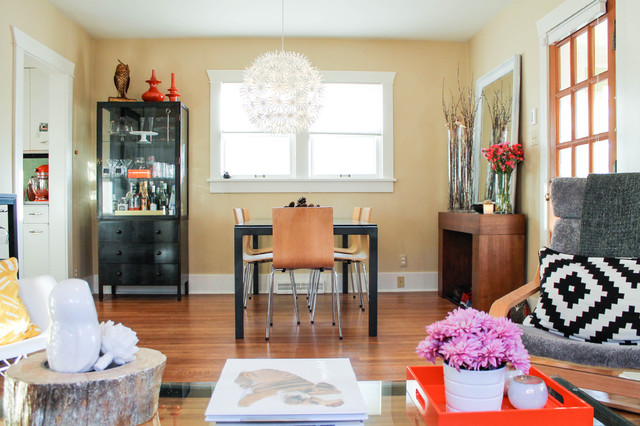 Eclectic Dining Room by Lauren Mikus