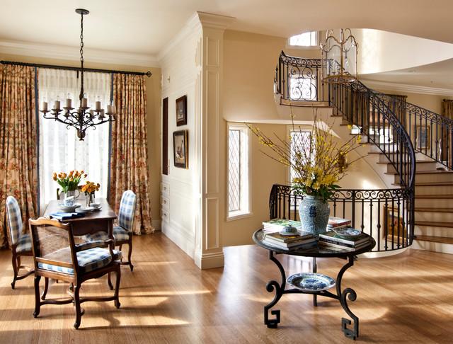denver manor home traditional dining room