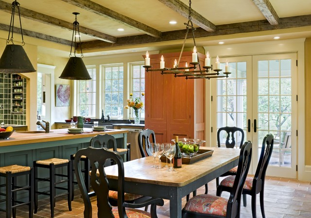 Derby Hill Farm Lyme NH traditional dining room